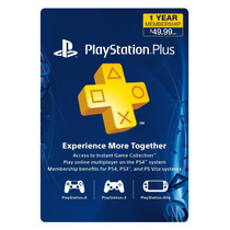 Cartão Psn Plus 12 Meses - Playstation Network Plus 12 Meses