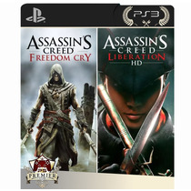 Assassins Creed Freedom Cry +liberation Hd Ps3 Cod Psn Pt-br