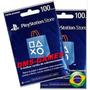 Cartão Psn Brasil R$200 Reais Envio Imediato 2x100