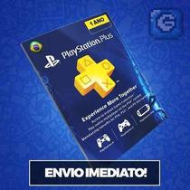 Cartão Psn Plus Brasil 12 Meses - Envio Via Email Rapido