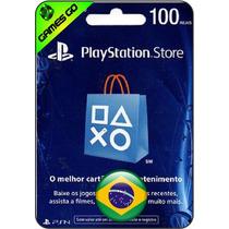 Cartão Psn Brasileira Brasil R$ 100 Reais - Envio Imediato