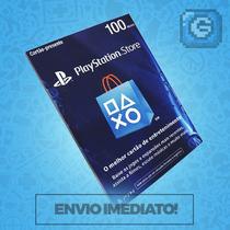 Cartão Psn Brasileira Brasil R$100 Reais - Preço Imbativel!