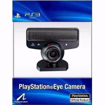 Camera Ps3 E Pc Eye Playstation 3 Original - Pronta Entrega