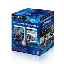Kit Move Completo Com 2 Jogos Originais Playstation 3 - Ps3