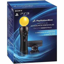 Kit Playstation Move Completo+c/jogo+câmera+controle