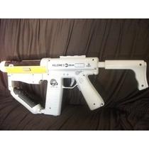 Ps3 - Kit Arma Sharp Shooter - Metralhadora Gun Original