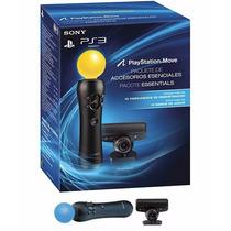Playstation Move Ps3 Kit Completo + 2 Jogos - Frete Grátis !