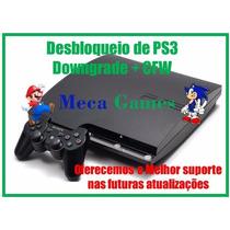 Desbloqueio De Ps3/playstation3 Por Downgrade E Cfw O Melhor
