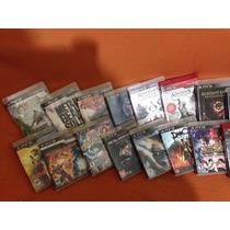 Playstation 3 500gb De Memória, 23 Jogos, 2 Controles