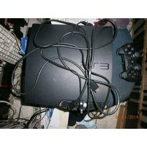 Playstation 3 Com Hd 160gb Com 1 Jogo 1controle Na Caixa