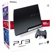 Playstation 3 160gb +controle Original+cabo Hdmi +6 Jogos