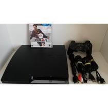 Ps3 Slim 160gb + Fifa 14. Troco Por Xbox Travado C/ Kinect.