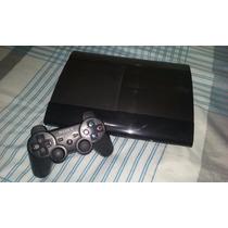 Playstation 3 Slim 250gb + 10 Jogos + 2 Controle Originais