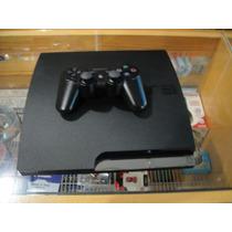 Video Game Playstation 3 Slim Ps3 + 9 Jogos Originais