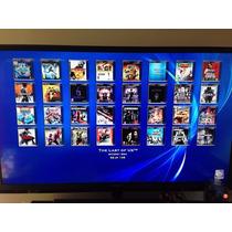 Playstation 3 Desbloqueado C/ Hd 320 C/ 2 Controle Na Caixa