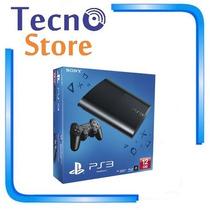 Playstation 3 Ps3 Super Slim 12gb Mexicano Bi-volt 3d Bluray