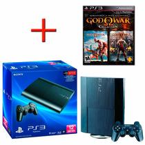 Playstation 3 Ps3 Super Slim 12 Gb Original Sony + Jogo