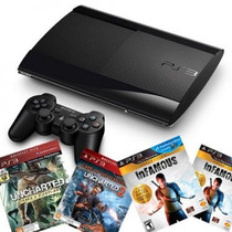 Playstation 3 Ps3 250gb Super Slim Bivolt 3d + 1 Jogo + Hdmi