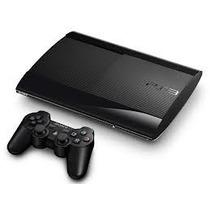 Ps3 Playstation 3 Super Slim 160 Gb Com Gta V; Max Payne 3