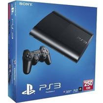 Playstation 3 Super Slim 250gb Semi Novo + 4 Jogos Originais