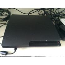 Ps3 C/2 Controles, 11 Jogos,carregador,headset,câmera