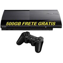 Promoção Video Game Play 3 Super Slim 500gb Pronta Entrega