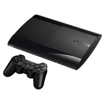 Console Playstation 3 Sony Ps3 500gb Bloqueado Preto Bivolt