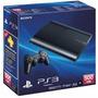 Playstation 3 Ps3 Super Slim Hd 500gb Na Caixa + Brinde