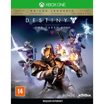Jogo Destiny The Taken King Xbox One Ed.léndaria Lançamento