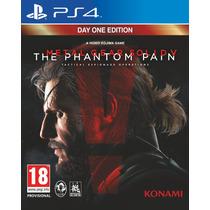 Jogo Metal Gear Solid V The Phantom Pain - Ps4