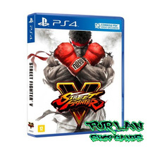 Street Fighter V Ps4 Playstation 4 Mídia Física Pré-venda