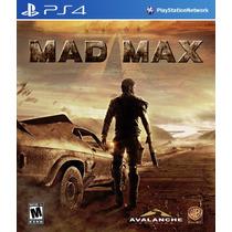 Mad Max Primária Ps4 Mg