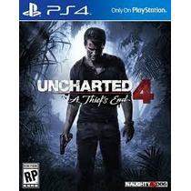 Uncharted 4 Portugues Ps4 (secundaria) Pre Venda!