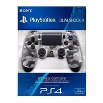 Controle Ps4 Camuflado Playstation 4 Original Sony Dualshock