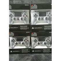 Controle Dualshock Ps4 Cinza Edição De Aniversário 20 Anos!