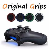 Par Grip Borracha De Silicone Analógico Ps4 Sony Premium