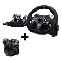 Volante Logitech Driving Force G920 + Cambio Xbox One Pc
