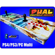 Controle Arcade Duplo Ps4/ps3/pc
