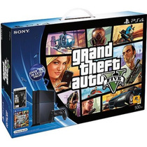 Playstation 4 500gb Gta 5 + The Last Of Us Controle Hdmi