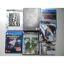 Coleção Metal Gear Solid Ps4, Ps3 Ps2 Psone