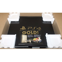 Playstation 4 Gold Limited Edition 6500 Peças! New+ Raro+++