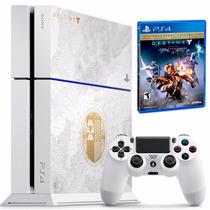 Playstation 4 Branco Ps4 500gb + Hdmi + Blu-ray 3d + Destiny
