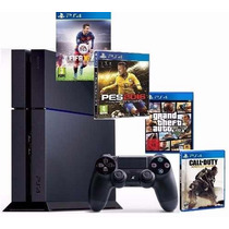 Playstation 4 Ps4 + 2 Jogos - Pronta Entrega - Rafa Gamer!