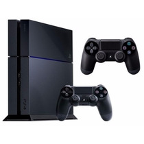 Playstation 4 Sony 500gb Ps4 + 2 Controles + Modelo Novo