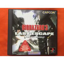Psx Ps1 Ps2 Biohazard 3 Last Escape Original Frete Grati$
