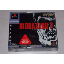 Resident Evil 2 Ps1 Psx Playstation Novo Lacrado! Raro A+++