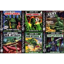 Army Men 12 Jogos Coleção Patch Ps1 Psx