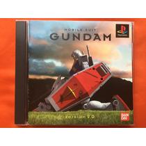 Psx Mobile Suit Gundam Version 2.0 Original Cd Spin Frt Grt$