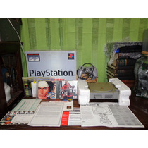 Playstation 1 Fat+cx+manual+isopor+2 Jogos+av.pio-agni Games