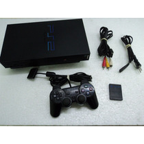 Playstation 2 Fat + Controle + Memory Card